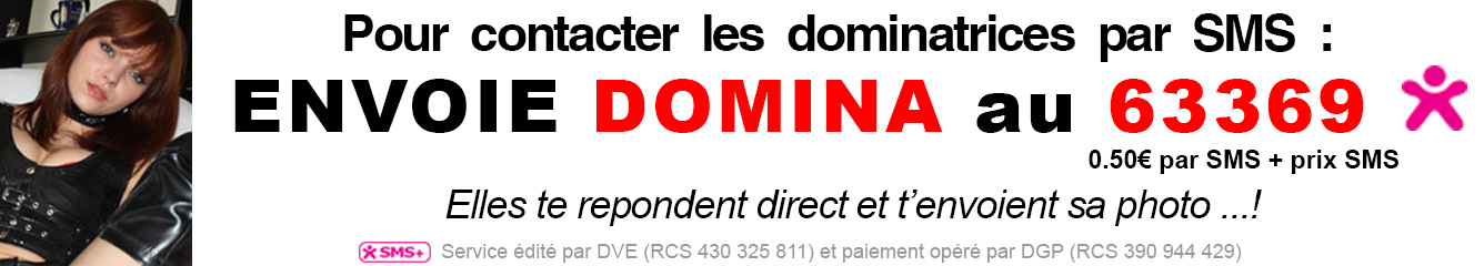 dial sms dominatrices